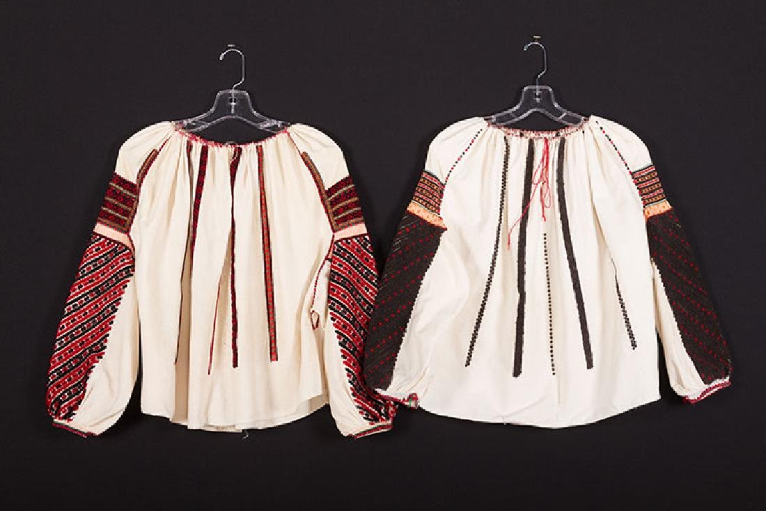 2 EMBROIDERED ETHNIC SHIRTS