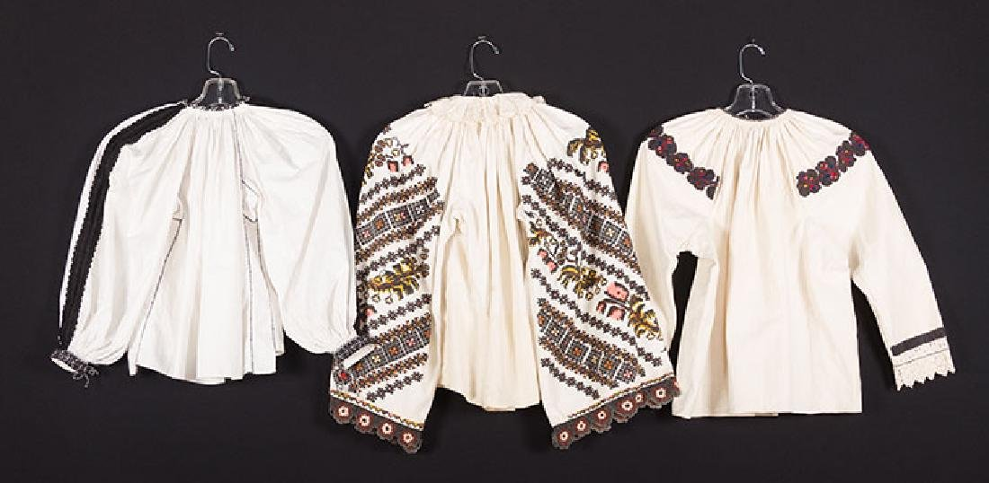 3 EMBROIDERED ETHNIC BLOUSES - 2