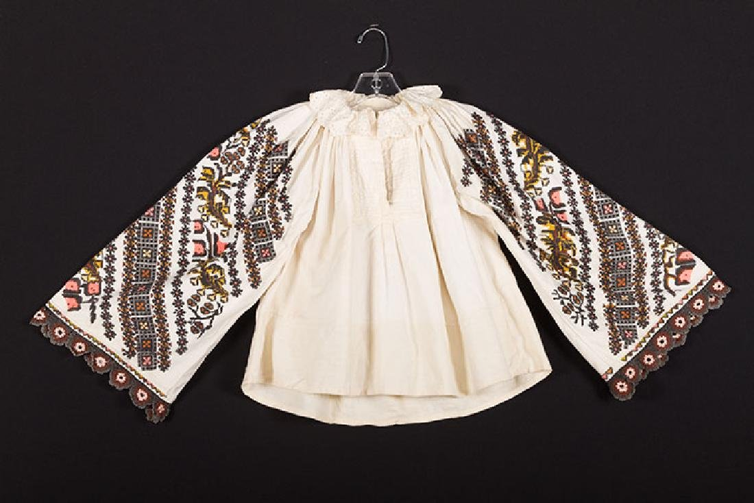 3 EMBROIDERED ETHNIC BLOUSES - 3