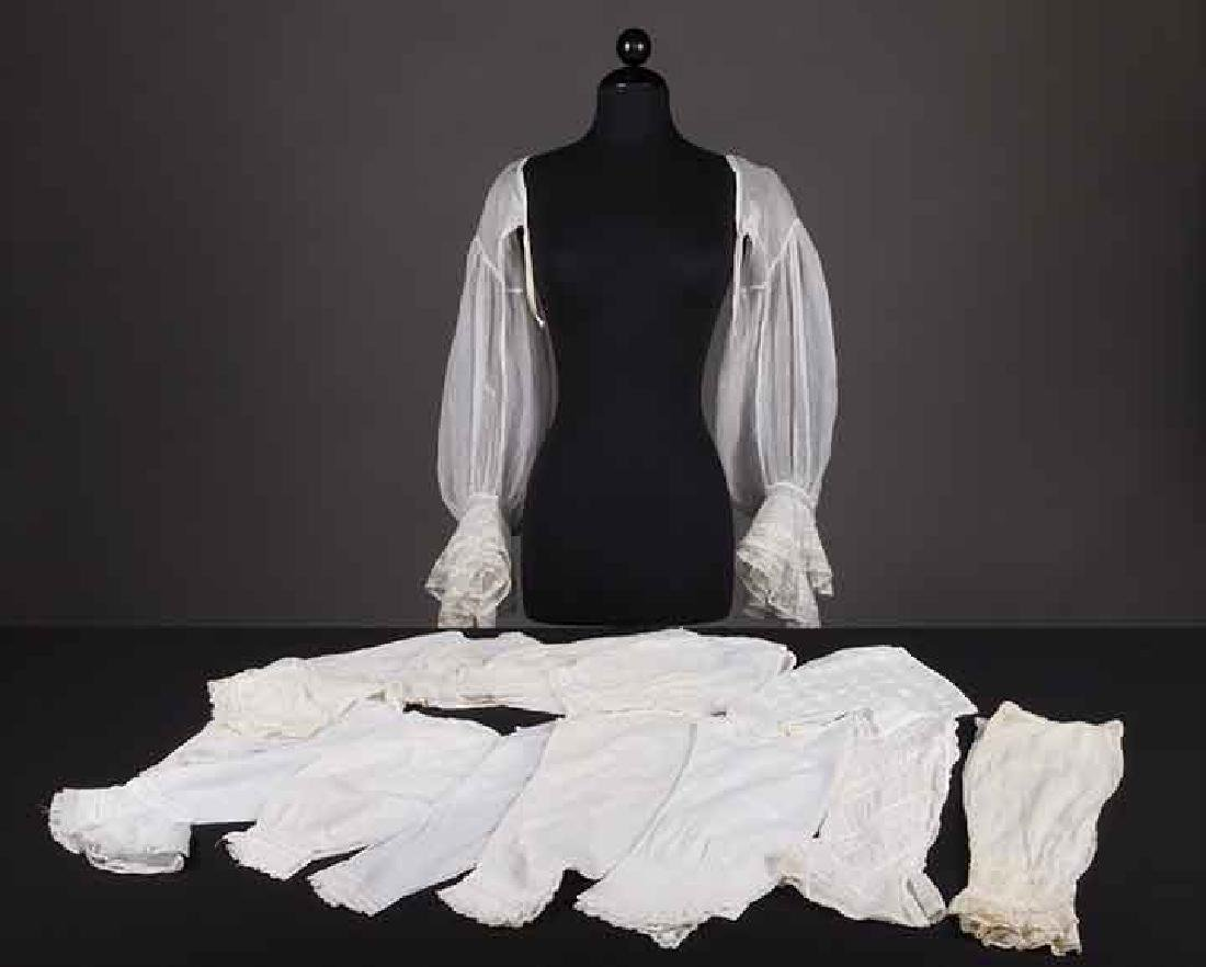 LARGE LOT OF UNDERSLEEVES & CUFFS