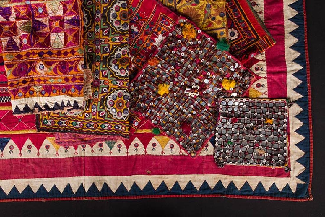 LOT OF INDIAN TEXTILES