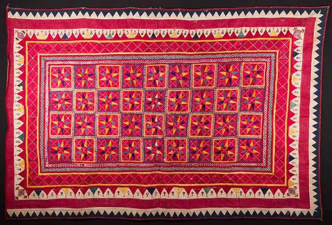 LOT OF INDIAN TEXTILES - 6