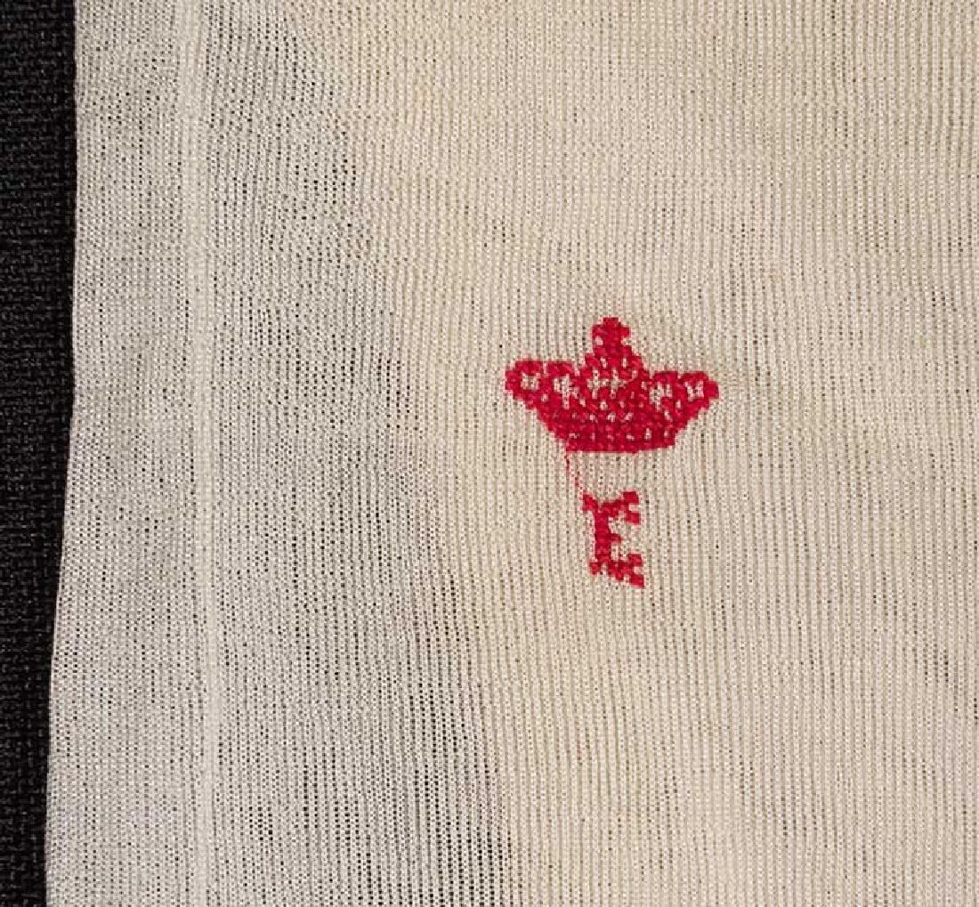 EMPRESS EUGENIE HOSIERY, FRANCE, MID 19TH C. - 2