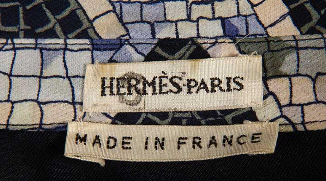 TWO MENS HERMES SILK SHIRTS, LATE 20TH C - 6