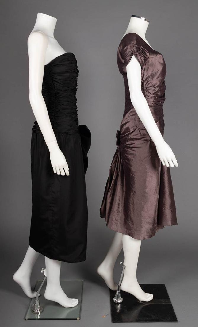 TWO CHRISTIAN DIOR EVENING DRESSES, LATE 20TH C - 2