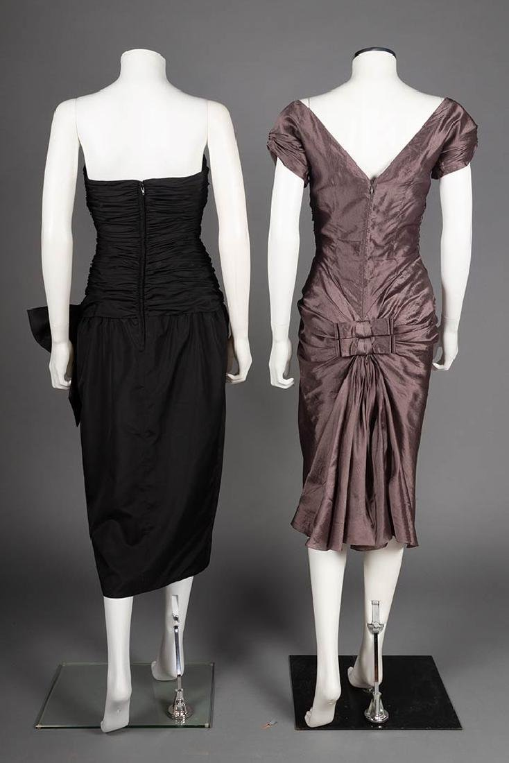 TWO CHRISTIAN DIOR EVENING DRESSES, LATE 20TH C - 3