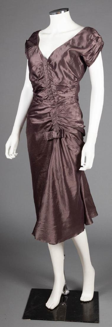 TWO CHRISTIAN DIOR EVENING DRESSES, LATE 20TH C - 7