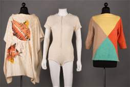 ONE BATHING SUIT & TWO TERRY COVERUPS, 1955-1965