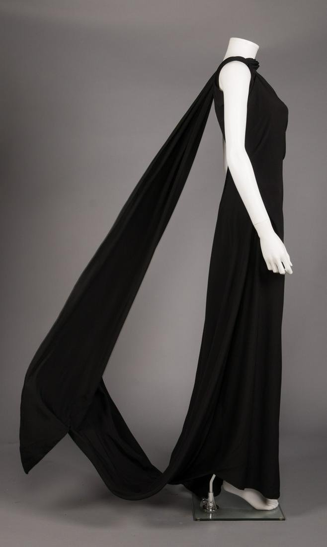 VIONNET MOBIUS PANEL EVENING GOWN, AW 1936