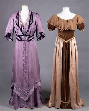 ONE DAY DRESS & ONE FANCY DRESS, 1912-1920s