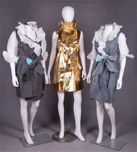 SET OF TWA PAPER DRESSES, AMERICA, 1968