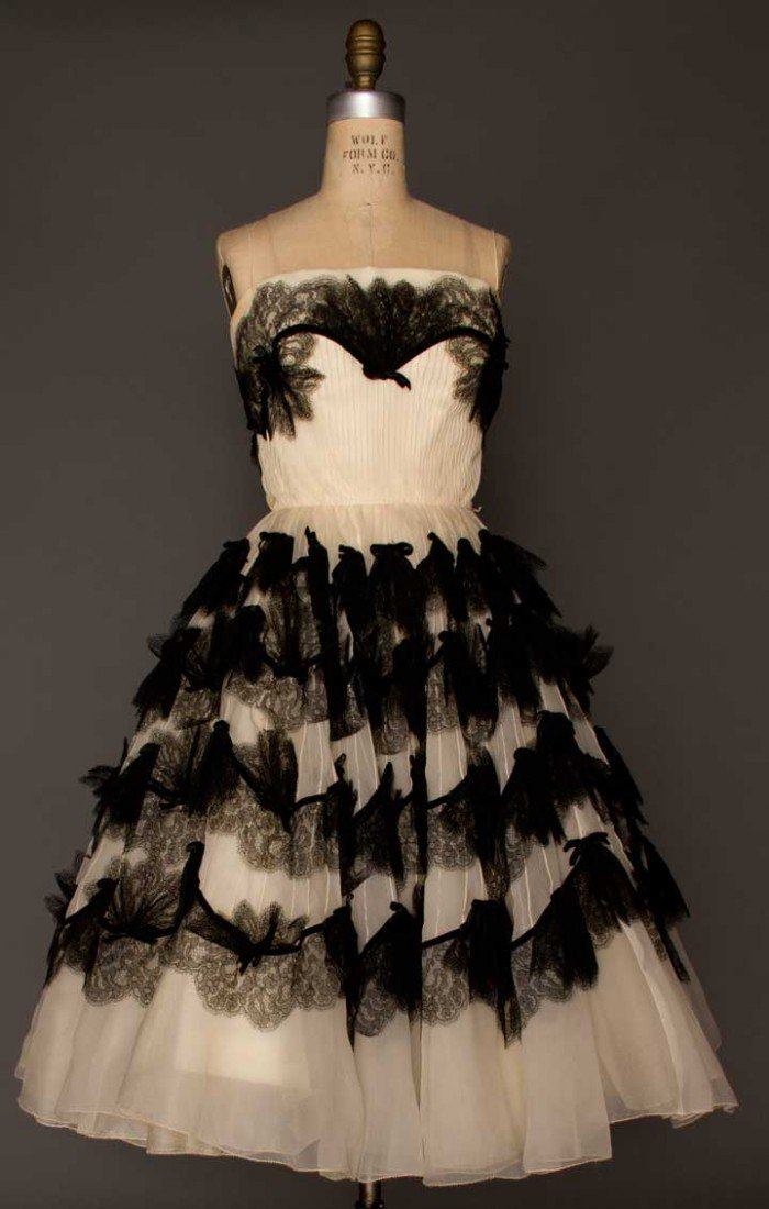 1: SOPHIE OF SAKS EVENING GOWN, c. 1951