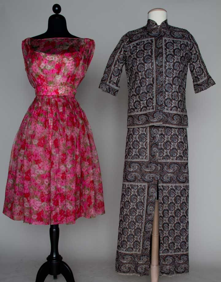 4: TWO PARTY OUTFITS, LATE 1950s