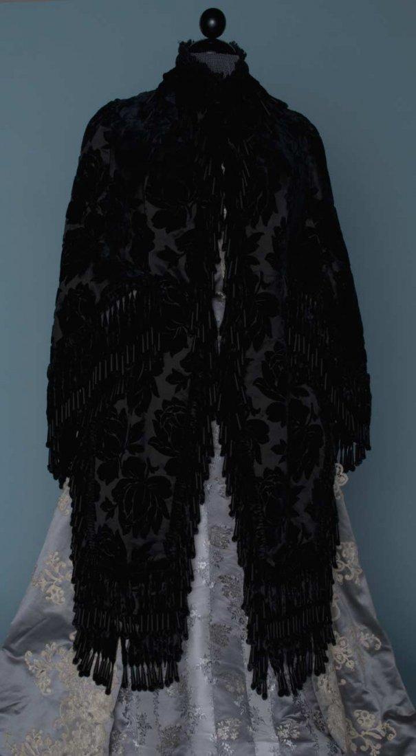 2: BLACK VELVET VISITE, 1880s