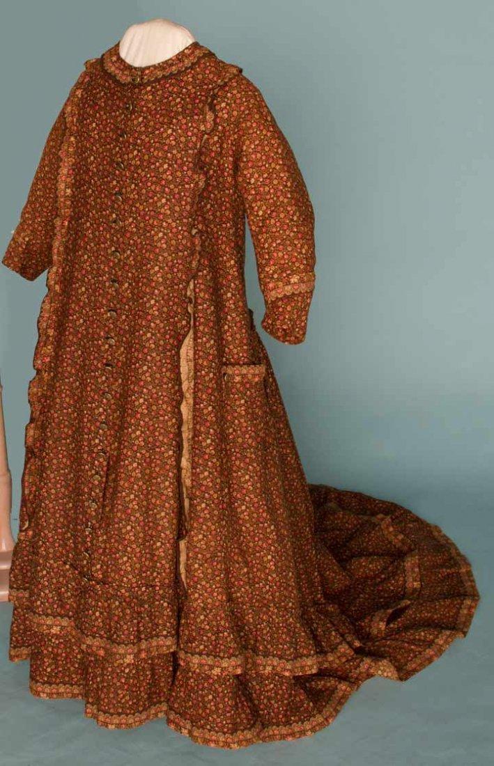 22: GIRL'S COTTON MORNING DRESS, 1884