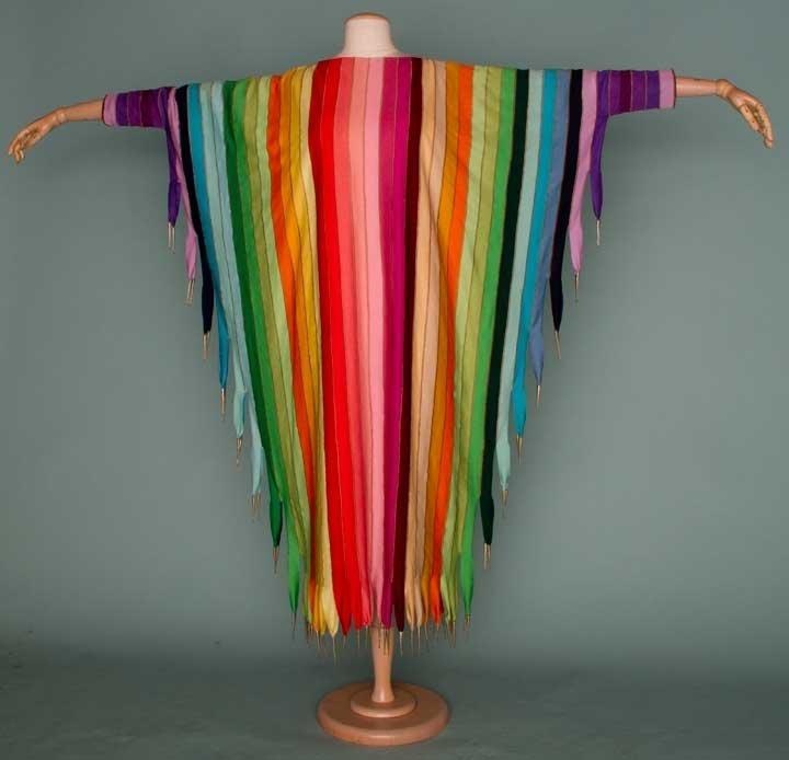 270: PACO RABANNE MUSIC DRESS, EARLY 1970s