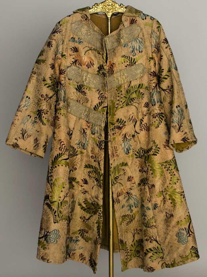 BOY'S SILK DRESS COAT, RUSSIA, 19TH C