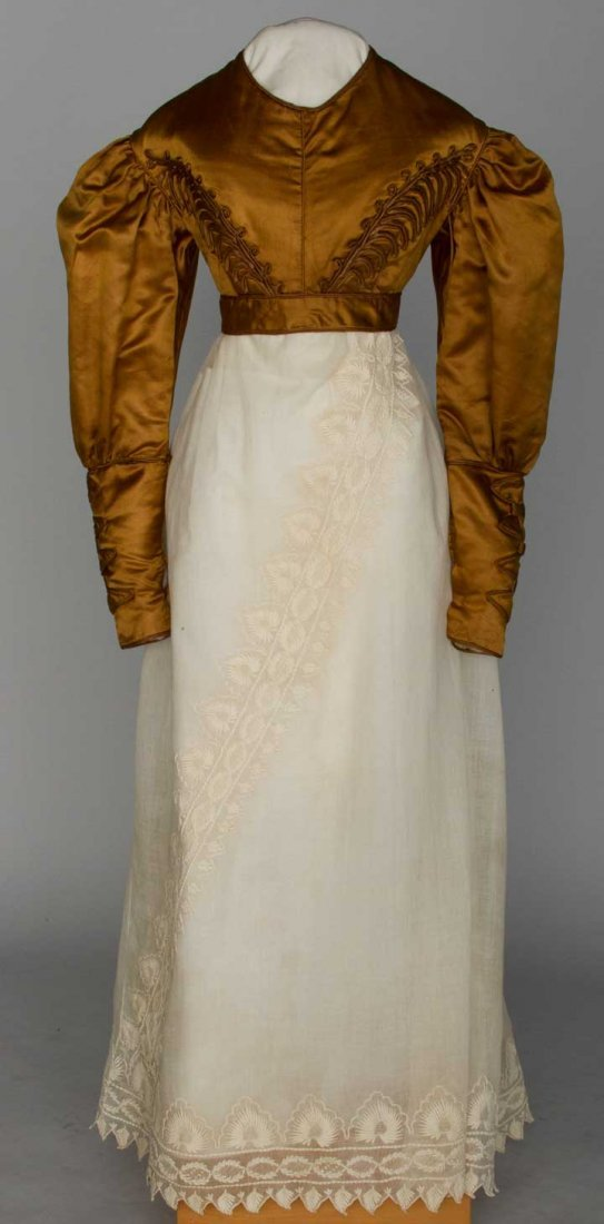 YOUNG LADY'S SILK SPENCER, 1820s