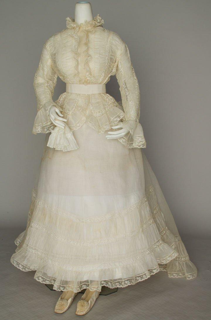 LADY'S WEDDING ENSEMBLE, DEC. 30, 1868