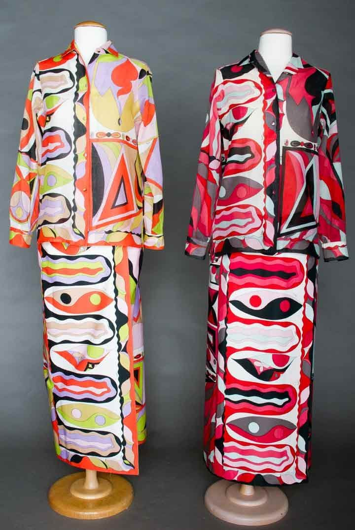 TWO PUCCI RESORT OUTFITS, 1960s