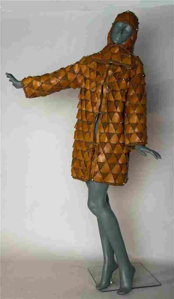 PACO RABANNE COAT & HELMET, 1965-1967
