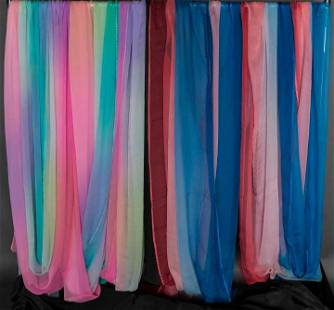 THIRTY YARDS SCAASI OMBRE CHIFFON, 1960s