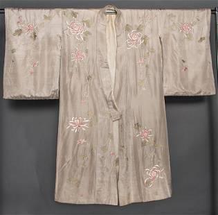SILK EXPORT KIMONO, JAPAN, 1900-1920