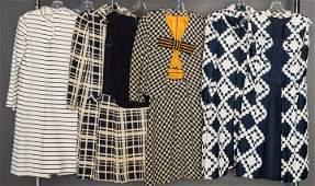 FOUR DAY DRESS ENSEMBLES, 1960s