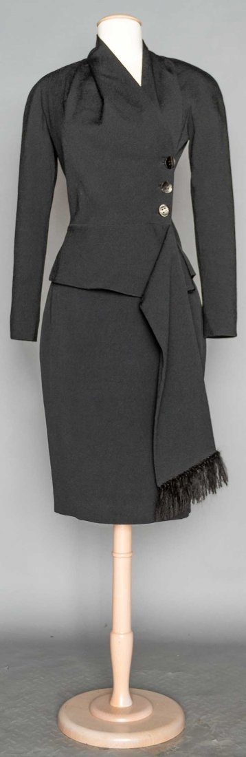 CHRISTIAN DIOR DINNER SUIT, LATE 20TH C