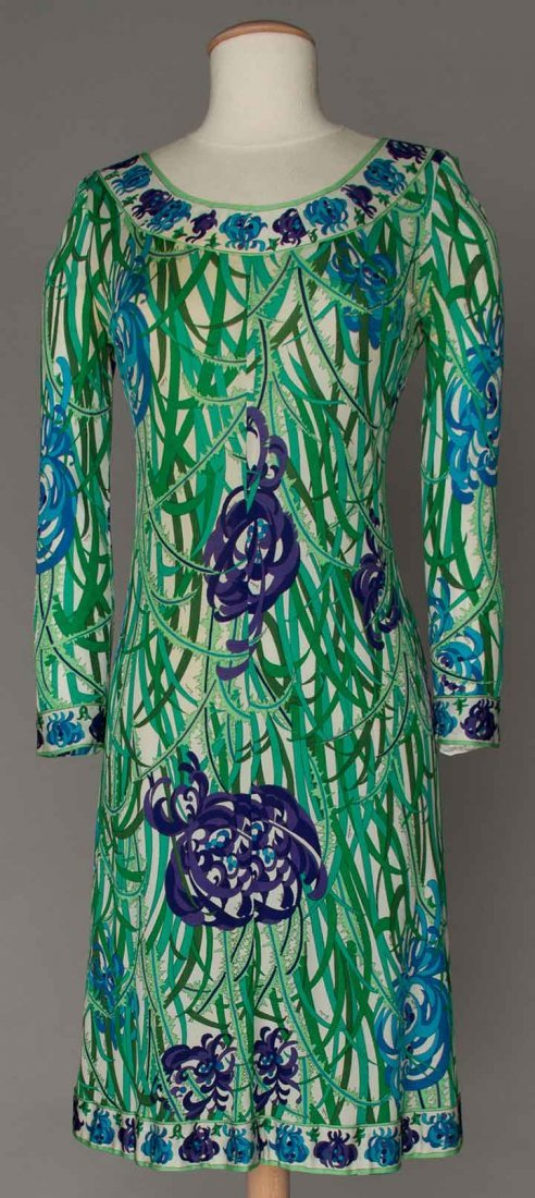 TWO PUCCI PRINTED GARMENTS, 1970s