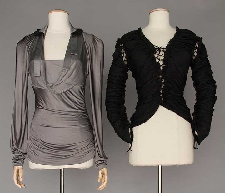 TWO TOM FORD BLOUSES, 2002-2003
