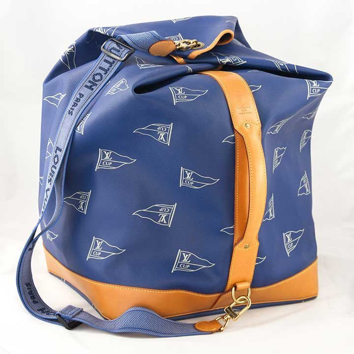 LOUIS VUITTON LARGE AMERICA'S CUP BUCKET BAG, 1991