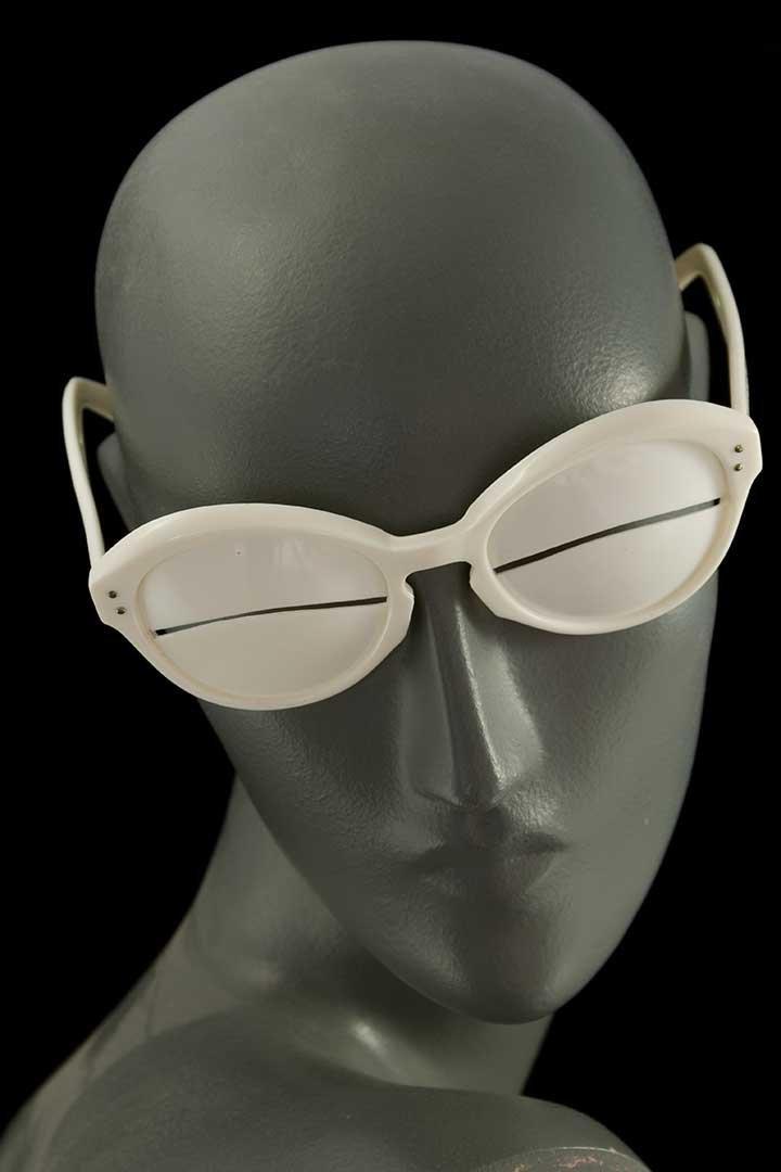"ANDRES COURREGES RARE ""ESKIMO"" GLASSES, 1964"