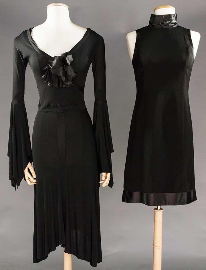 YVES SAINT LAURENT & COURREGES DRESSES, 1970s