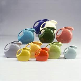 11 FIESTA pitchers: eight 7 1/2² x 8 1/4²