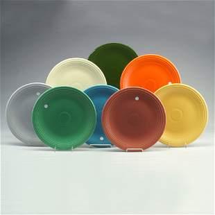 8 FIESTA 13² serving plates (circular): ro