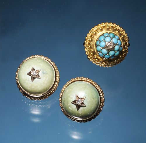 TURQUOISE & DIAMOND STAR JEWELRY