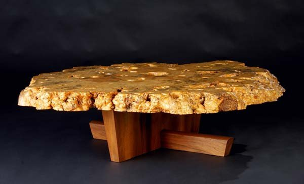 2: GEORGE NAKASHIMA Exceptional Minguren I coffee table