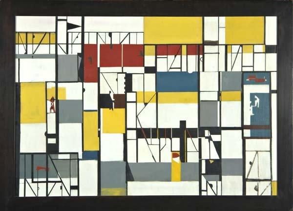 159: Seymour Fogel (American, 1911-1984) Untitled, ca.