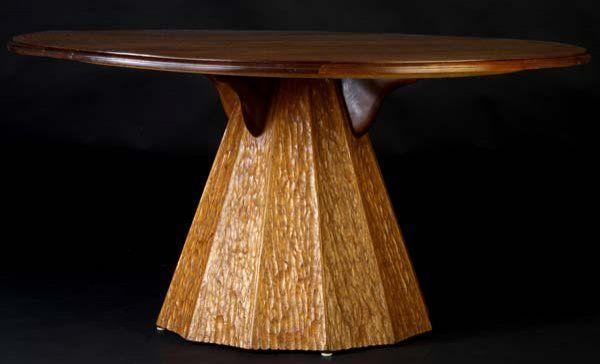 PHILLIP LLOYD POWELL Phillipine mahogany dining ta