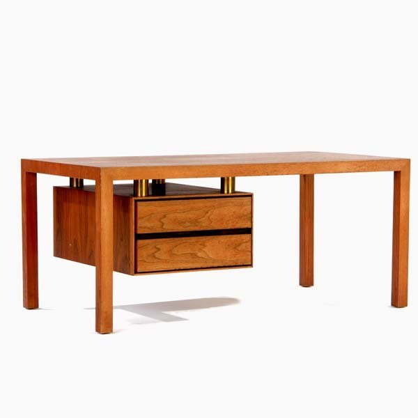 1017: VLADIMIR KAGAN / DREYFUSS Rectangular table with