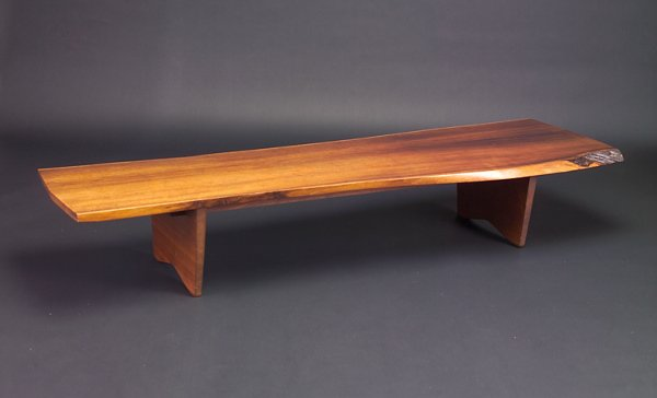 1: GEORGE NAKASHIMA Exceptional and very rare coffee ta