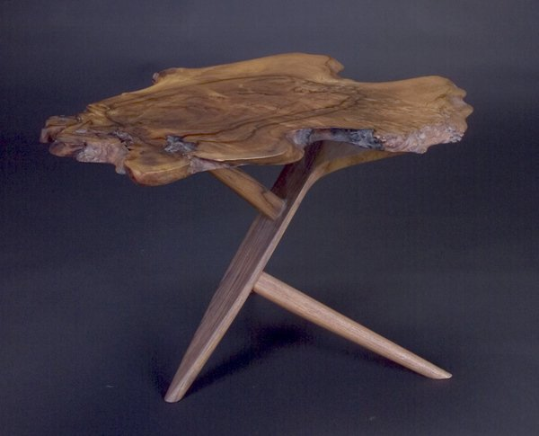 5: GEORGE NAKASHIMA Fine Conoid end table with excellen