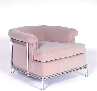 WARREN McARTHUR Fine Old Point Comfort club chair o