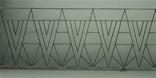 WARREN/ALBERT CHASE McARTHUR Two pieces of Art Deco