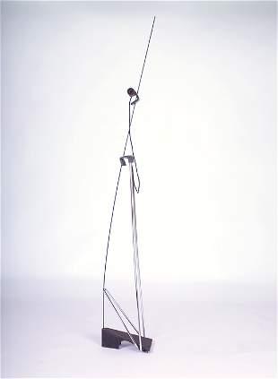 "FONTANA ARTE ""Bluebell"" telescopic floor lamp with"