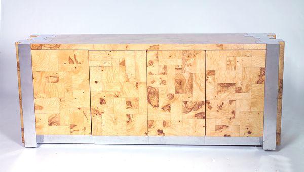 PAUL EVANS Fine custom-designed sideboard in patch