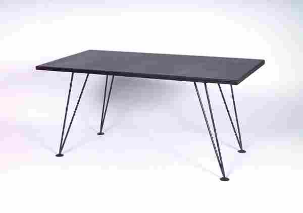 PHILLIP LLOYD POWELL Early and rare dining table,