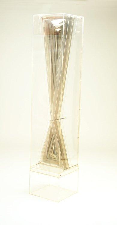 631: Aaronel De Roy Gruber; Extended Triad; acrylic scu