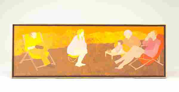 March Avery; Afternoon in Italy; 1971-1972; oil on